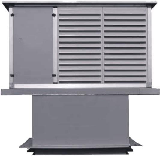 Крышный вентилятор подпора VKT